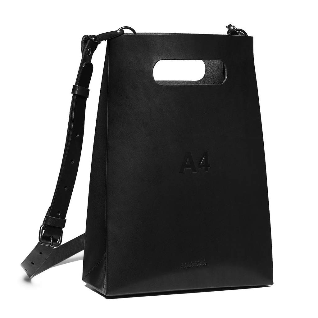 A4 Leather(Black)