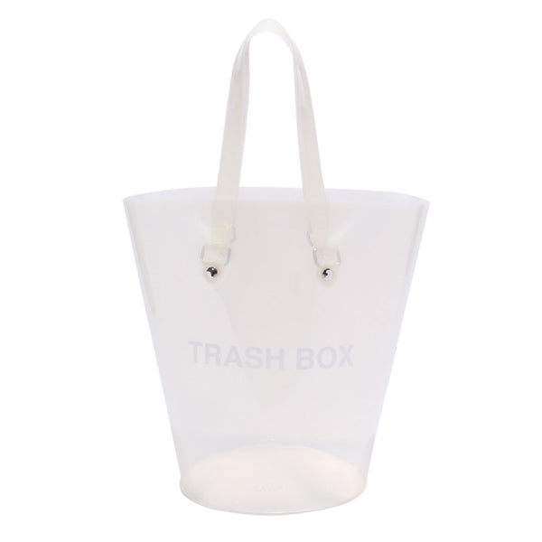 Not a Trash box Milky White(Medium)