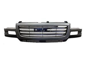2003-2006 GMC Sierra HD Grill Black