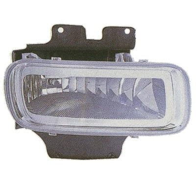 Ford F150 2004-2008 Rectangular shaped fog light - FO2593209 / FO2592209