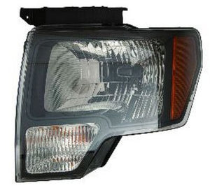 2009 - 2014 Ford F150 Headlight - Black Raptor SVT