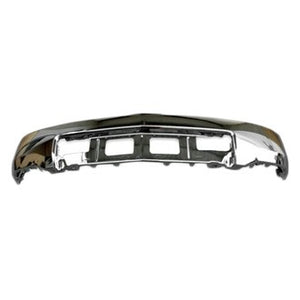 2014 - 2015 Chevrolet Silverado 1500 front chrome bumper, w/o park sensor, w/o Fog Light holes GM1002844