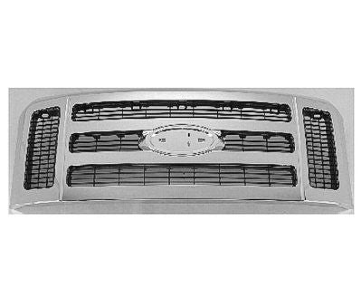 2008-2010 Ford Superduty Chrome XLT Grill '100038