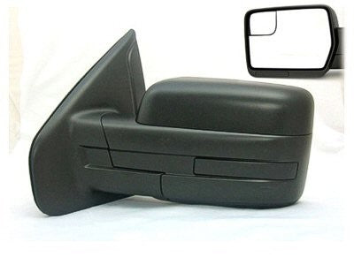 2011-2014 Ford F150 Power side view mirror (Textured black with no reflector) FO1320408(1321409)