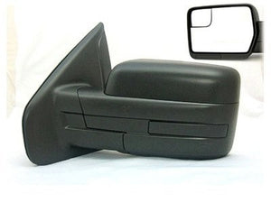 2012-2014 Ford F150 side View Mirror without Reflector no power no heat '100236