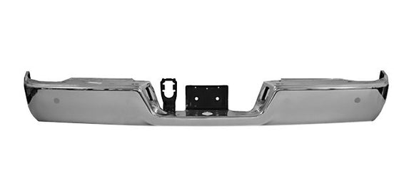 2009 - 2017 Dodge Ram 1500 Rear Chrome Bumper