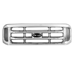 1999-2004 Ford F250 F350 Chrome Grill FO1200417
