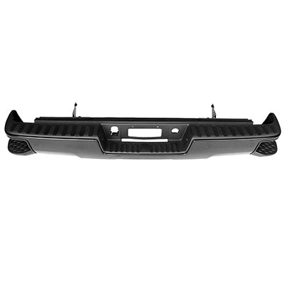 2014 2015 2016 2017 2018 GMC Sierra Chev Silverado Rear Black Step Bumper Assembly  GM1103177