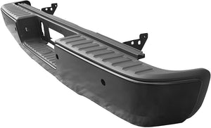 2014 2015 2016 2017 2018 GMC Sierra Chev Silverado Rear Black Step Bumper Assembly GM1103178