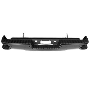 2014 2015 2016 2017 2018 GMC Sierra Chev Silverado Rear Black Step Bumper Assembly  GM1103179
