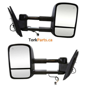 1999 - 2006 GMC Sierra Chev Silverado Towing Mirrors (Manual) - Pair '35413