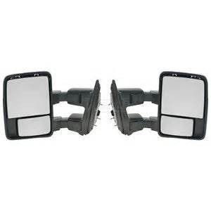 2008 - 2016 Ford F250 F350 F450 Towing Mirrors - Manual - Pair Platinum F9916M