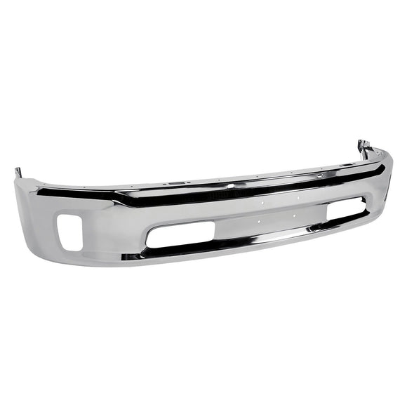2013 - 2017 Dodge Ram 1500 Chrome front bumper with fog lights - CH1002396