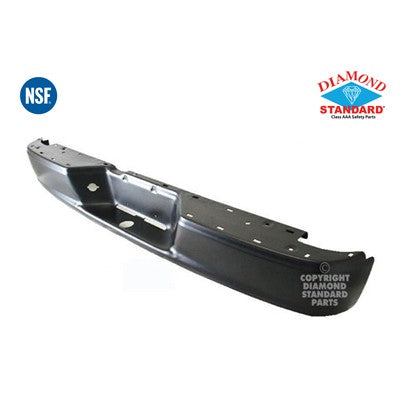 2005-2010 Dodge Dakota Rear Step Bumper Face Bar - Black CH1102362