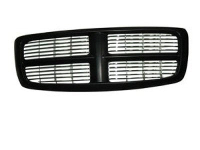 2002-2005 Dodge Ram Grill Black with chrome billet style '100321