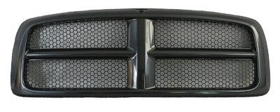 2002-2005 Dodge Ram Black Painted grill