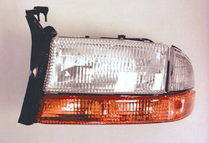 1998-2004 Dodge Dakota Headlight assembly with signal