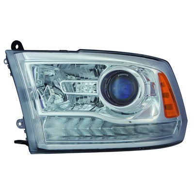 2013 - 2015 Ram 1500 2500 3500 Projector Headlight