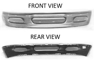 1997-1998 Ford F150 / Expedition front Chrome Bumper