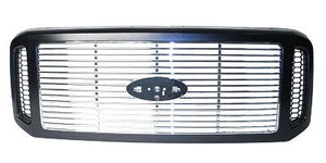 2005 - 2007 Ford F350 Black Billet style Grill FO1200458
