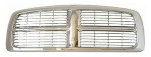 2002 - 2005 Dodge Ram Chrome Grill - All Chrome CH1200261