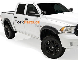 2009 - 2018 Ram 1500 Pocket Rivet Style Fender Flares '14650