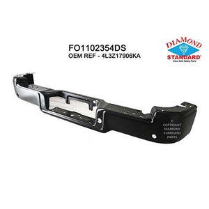 2006 - 2008 Ford F150 Rear Bumper facebar - Primered finish '313513