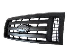 2009 - 2012 Ford F150 Black Textured Grille FO1200510
