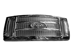 2009 - 2012 Ford F150 King Ranch Chrome Grill  FO1200522
