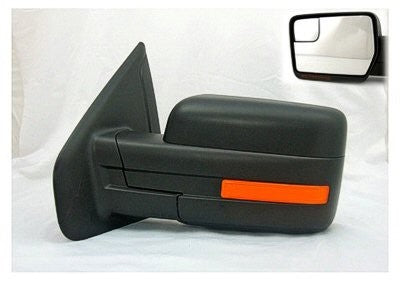 2011-2014 Ford F150 Sideview mirror with heat, with memory, with turn signal, textured.