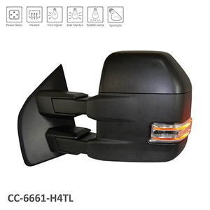 2015 - 2018 Ford F150 Towing Mirrors with power, heat and turn signal