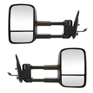 2003 - 2006 GMC Sierra /  Chev Silverado 1500 2500 3500 Towing Mirrors with power and heat - Pair GM0306N