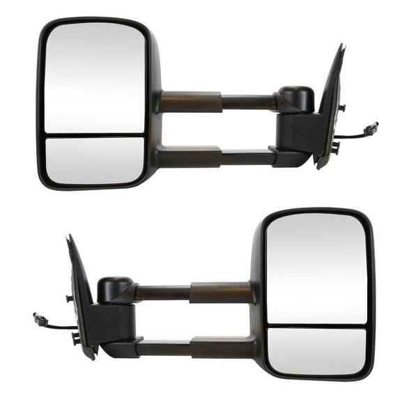 2003 - 2006 GMC Sierra /  Chev Silverado 1500 2500 3500 Towing Mirrors with power and heat - Pair