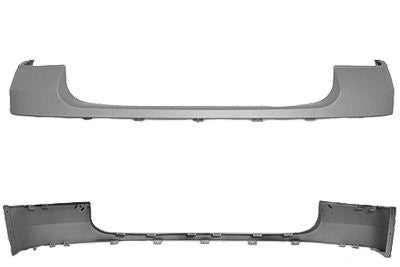 2007 - 2010 GMC Sierra 2500/3500 Upper Bumper Cover, smooth ready to paint  GM1000873