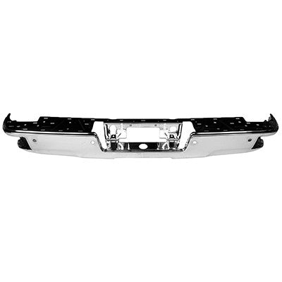 2014 - 2018 Sierra / Silverado Rear Chrome Step Bumper GM1102558