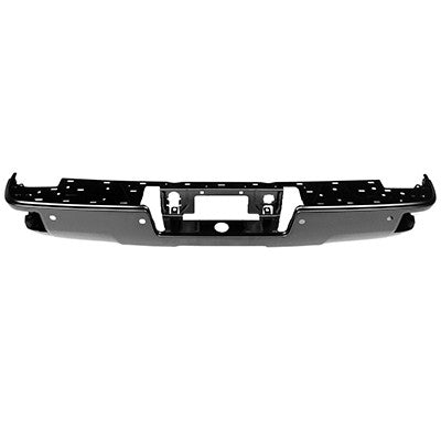 2014 - 2019 GMC Sierra Chev silverado Rear Black Step Bumper face bar GM1102563