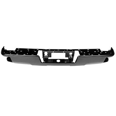 2014 - 2019 GMC Sierra Chev silverado Rear Black Step Bumper face bar  GM1102565