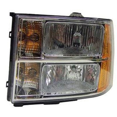 2007-2013 GMC Sierra headlight