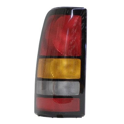 2001-2003 Silverado / Sierra Rear Tail light with Black Bezel GM2800166