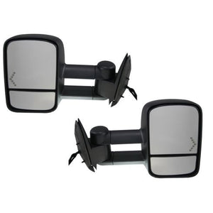 2003 - 2006 GMC Sierra Chev Silverado Towing Mirrors with Power, Heat and Signal - Pair PLATINUMGM0306