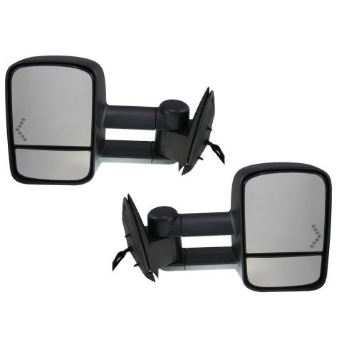 2003 - 2006 GMC Sierra Chev Silverado Towing Mirrors with Power, Heat and Signal - Pair