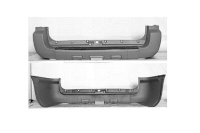 2006 - 2009 Toyota 4Runner Rear Bumper Cover TO1100253PP
