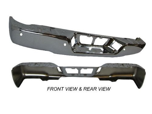 2007-2013 TOYOTA TUNDRA REAR STEP BUMPER '100198