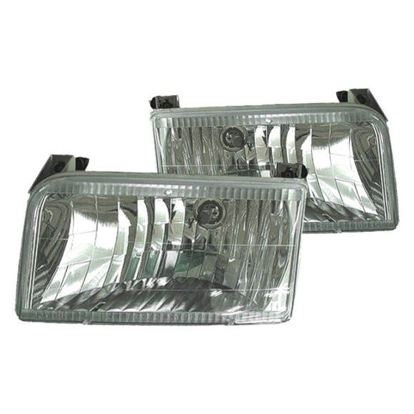 1992 - 1996 Ford F150 F250 F350 Bronco Performance Headlights FO25055102