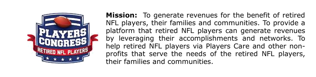 Retired NFL Players Congress Inc