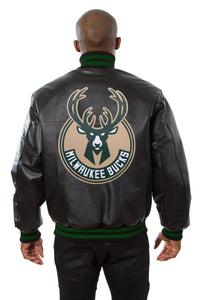 Milwaukee Bucks Full Leather Jacket