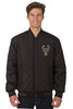 Milwaukee Bucks Reversible Wool and Leather Jacket