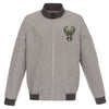 Milwaukee Bucks Nylon Bomber Jacket