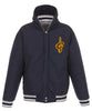 Cleveland Cavaliers Reversible Fleece and Faux Leather Jacket (Front Logos Only)