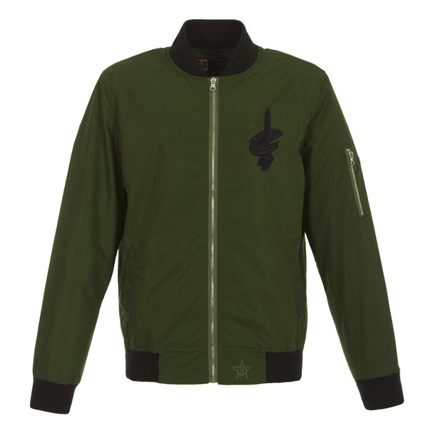 Cleveland Cavaliers Military Green Bomber